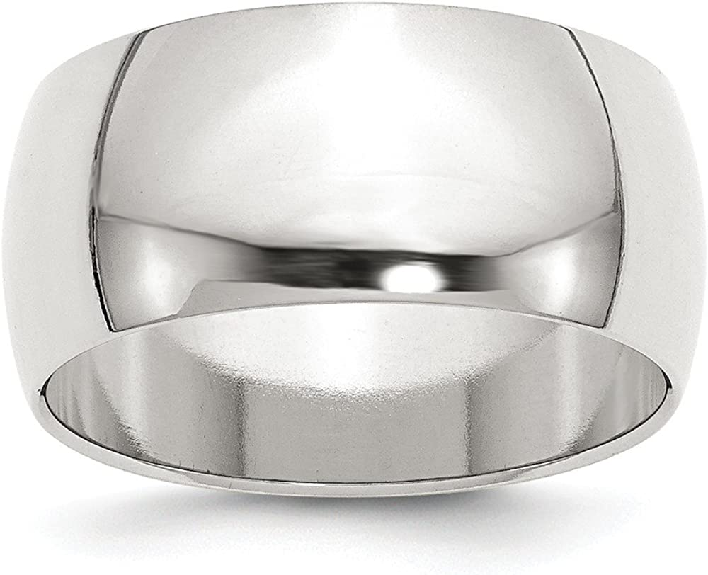 10mm Half Round Band