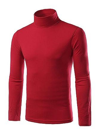057a6baa28aa7e Kentex Online Mens Polo Neck Long Sleeve Jumper High Neck Tops 100% COTTON:  Amazon.co.uk: Clothing