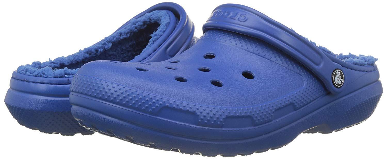 Crocs Classic Lined Clog - Blue Jean-M8/W10 US