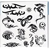 Pack Of 40+ Designs Fake Pretend Temporary Childrens Tattoos For Boys