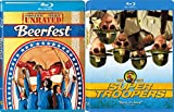 Beerfest + Super Troopers Super Comedy Set 2 Goof Movie Bundle