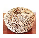 Organic Garden Twine Made of 100% Natural Coconut Fiber,Weight per Spool is 7 Lbs,and Length is + 1100 Feet, from Our Own Production.