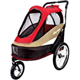 2 in 1 Dog Stroller & Bicycle Trailer for dogs up to 50 Ibs, also suitable for multiple cats and other pets