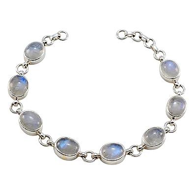 bracelet argent pierre