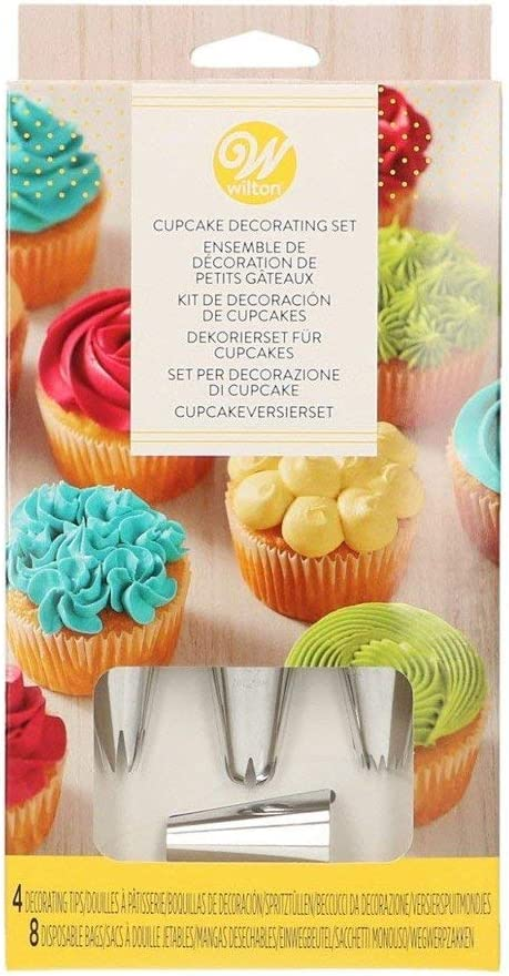 179Pcs Baking Supplies Kit DIY Cake Cupcake Decorating Icing Tips Set Tools