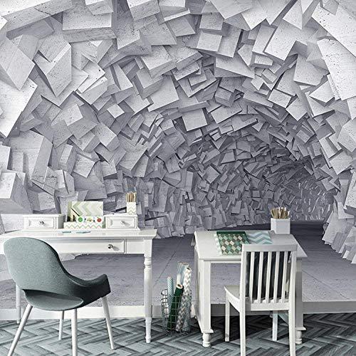 (Net Cafe Bar Gym Industrial Wind Wallpaper Seamless Large Mural-350245Cm)