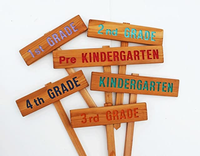 Childrens School Garden Signs, School Garden, Teachers Signs, Class Signs,  Eagle Scout