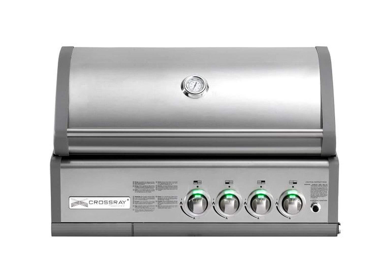 Gasgrill In Outdoor Küche Einbauen : Crossray heatstrip 50 mb gasgrill einbau grill gas garten