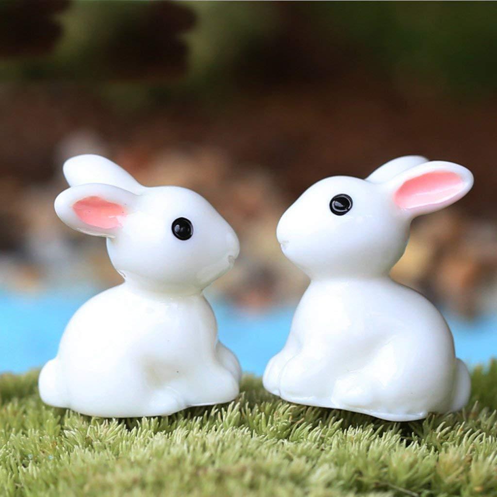Dolls House Miniature Bonsai Hand Garden Landscape diy Rabbit Decoration 10Pcs NaiCasy