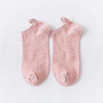 3 Pares Calcetines Calcetines Tobilleros de Mujer Niñas Algodón ...
