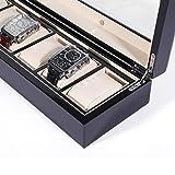 Yuwen GJR-L Solid Wood Watch Box Organizer with