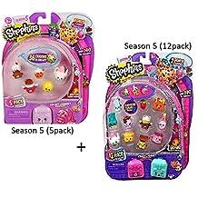 NEW Shopkins SEASON 5 (12-Pack) & SEASON 5 (5-Pack) Bundle