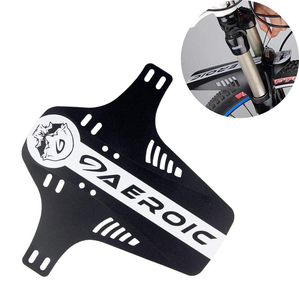 liberaci/ón r/ápida Compatible con Guardabarros Delantero y Trasero Negro PAWACA Guardabarros para Bicicleta de monta/ña