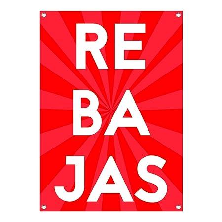 Lona Rebajas | Cartel de Rebajas | Cartel Publicitario ...