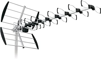 SKT SL44-01 Antena Exterior UHF 47 Elementos tipo X-plus para ...