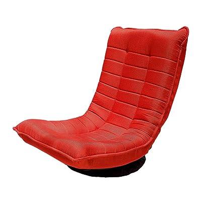 La Poltrona Rossa.Sofa Pigro Sedia Da Terra Poltrona Rossa Pigro