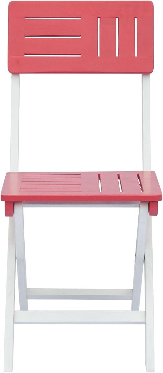 Youk Chaise de jardin rose pliante: Amazon.fr: Cuisine & Maison