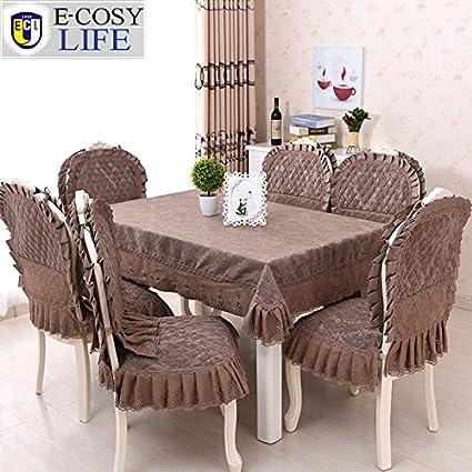 Buy Sellify Cc 13pcs Europe Jacquard Table Cloth And