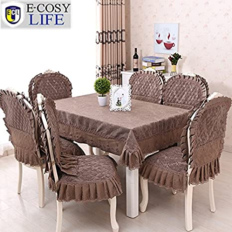 Sellify CC Tablecloth 130x180cm Europe Jacquard Table Cloth And Chair Covers Fashion Home Decor