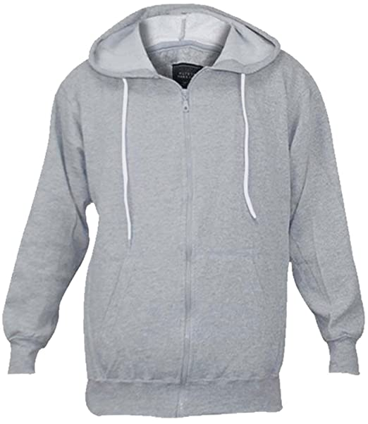 78684d78e666 True Face Mens Fleece Zip Up Hooded Sweatshirt  Amazon.co.uk  Clothing