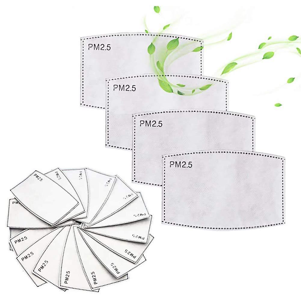 PM 2.5 ACTIVATED CARBON FILTER INSERT REPLACEABLE ANTI HAZE FILTER PAPER (200 PCS)