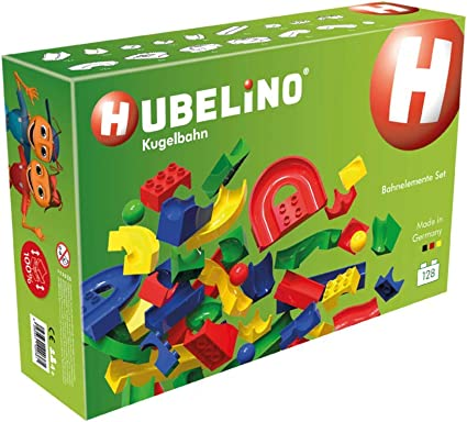 45-Piece See-Saw Expansion Set The Original Certified and Award-Winning Marble Run Hubelino Marble Run Made in Germany! 100/% Compatible with Duplo