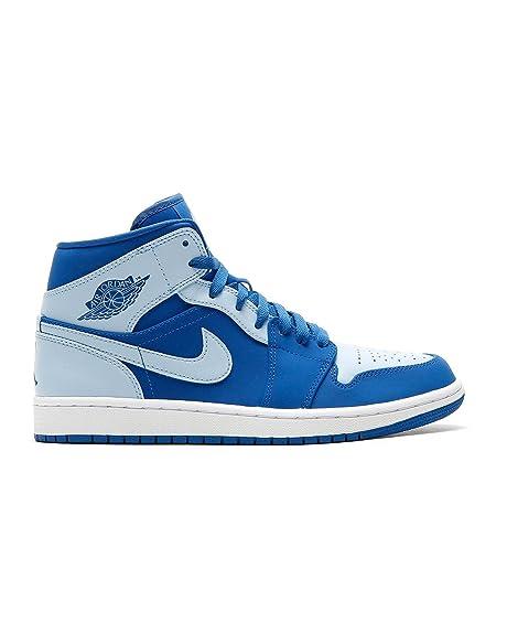 Buy Nike Air Jordan Men's Mesh Blue /White Shoes - 7 at Amazon.in