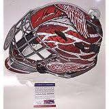 Petr Mrazek Signed Detroit Red Wings Full Size Replica Goalie Mask Coa - PSA/DNA Certified
