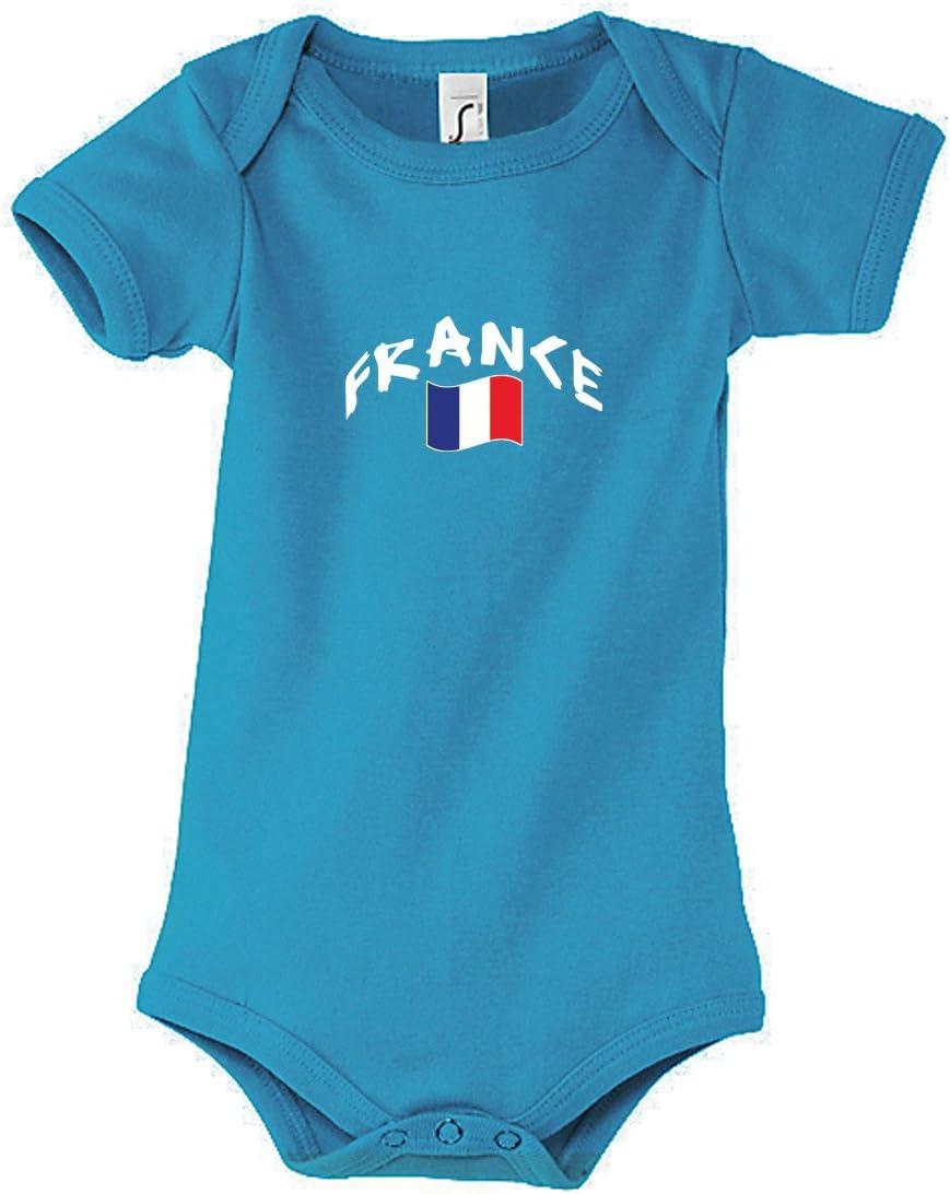 Mixte b/éb/é Body b/éb/é France Aqua Supportershop Body B/éb/é France Bleu