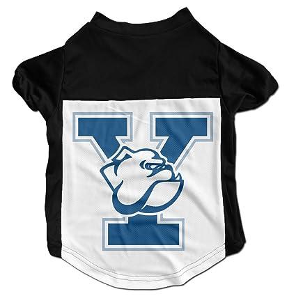4e283a26845 Amazon.com   TAYC Yale University Bulldogs Funny Pet Dog Black L ...