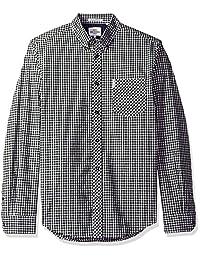 Ben Sherman - Camisa de manga larga para Mod Gingham ma10113 a