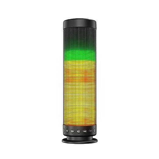 Review Bluetooth Speaker, LED Light