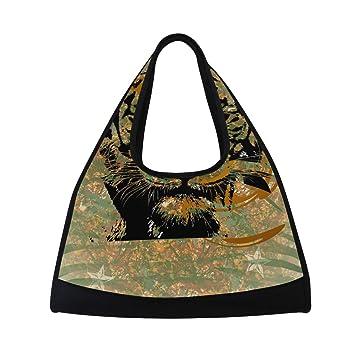 Amazon.com: DEYYA Tiger bolsa de gimnasio de fitness, bolsa ...