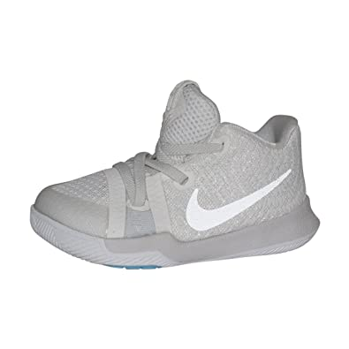 detailed look 53722 1a7f2 NIKE Infant Kyrie 3 Basketball Shoes (Ivory/Pale Grey-Light Bone, 10C)