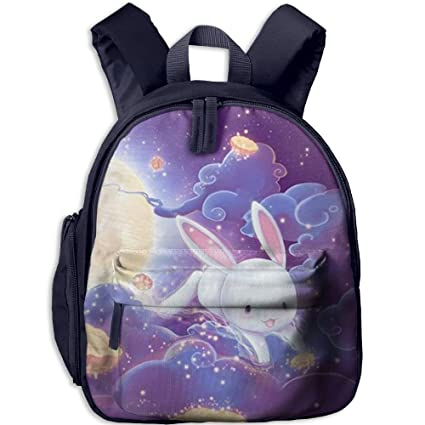 Amazon Com Bunny And Moon Cake Small Backpack Cool Toddler