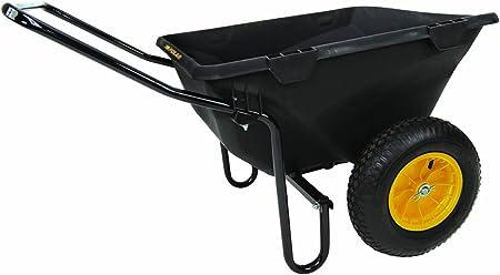 Polar Trailer Heavy-Duty Cub Cart Wheelbarrow - Best Wheelbarrow For Heavy-Duty