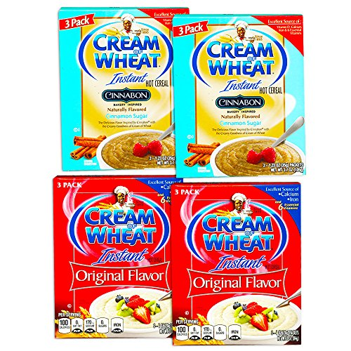 Cream of Wheat, Instant Hot Cereal (Variety Pack, 12 Packets)