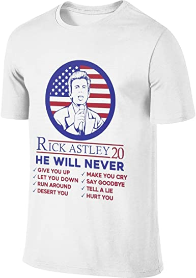 Funny Mens T-Shirt I Roll With Rick