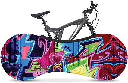 Cubierta Universal para Bicicleta Graffiti elástica, Funda ...