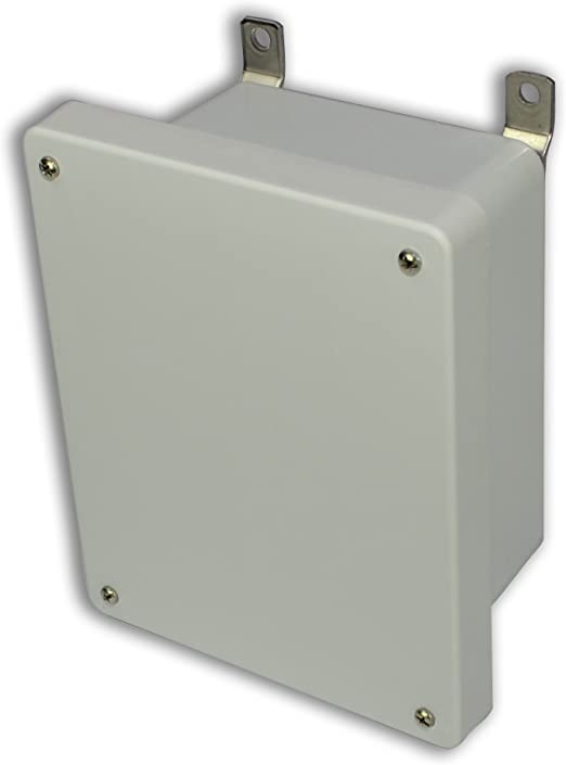 Lift-Off Screw Cover Allied Moulded AM864 AM Series Fiberglass JIC Size Junction Box