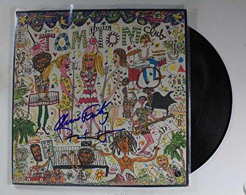 "David Byrne & Chris Frantz Signed Autographed ""Tom Tom Fraternity"" Record Album - COA Matching Holograms"