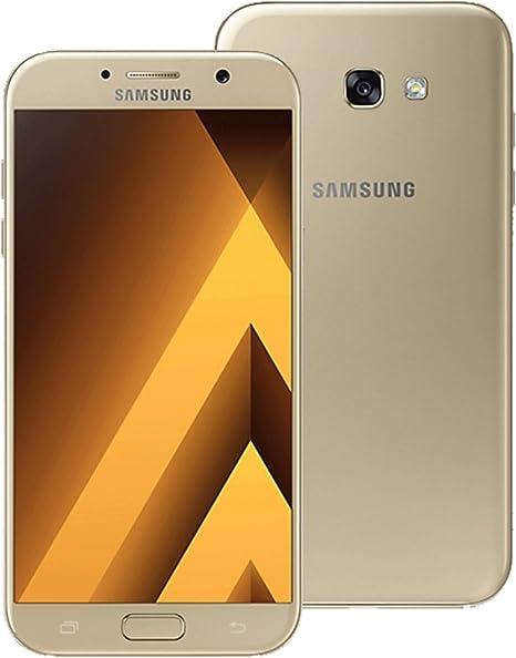 Samsung Galaxy A7 (2017) Dual SIM LTE SM-A720F/DS dorado: Amazon ...