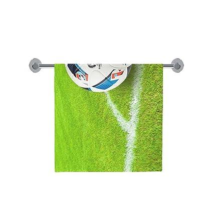Amor naturaleza personalizado fútbol baño cuerpo ducha toalla de baño Wrap para el hogar al aire