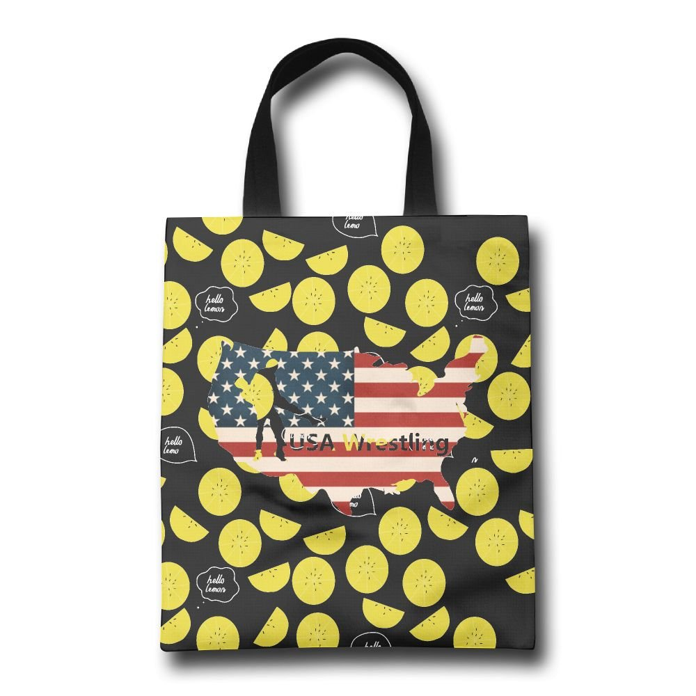 USA Wrestling Mens Reusable Satchel Travel Totes Luggage