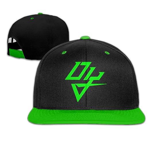 Hip Hop Baseball Cap Personalized Fashion Custom Daddy Yankee Logo  KellyGreen One Size 84db1795aa1