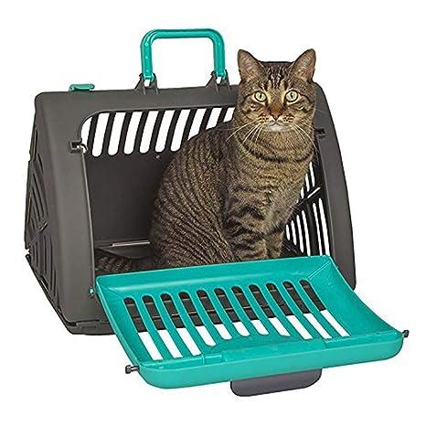 FXQIN Transportín para Gatos, Jaula Plegable para Perros, Porta ...