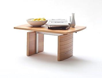 table basse ricard 100 x 70 x 5170 cm htre canap table de salon - Table Basse Hauteur Reglable