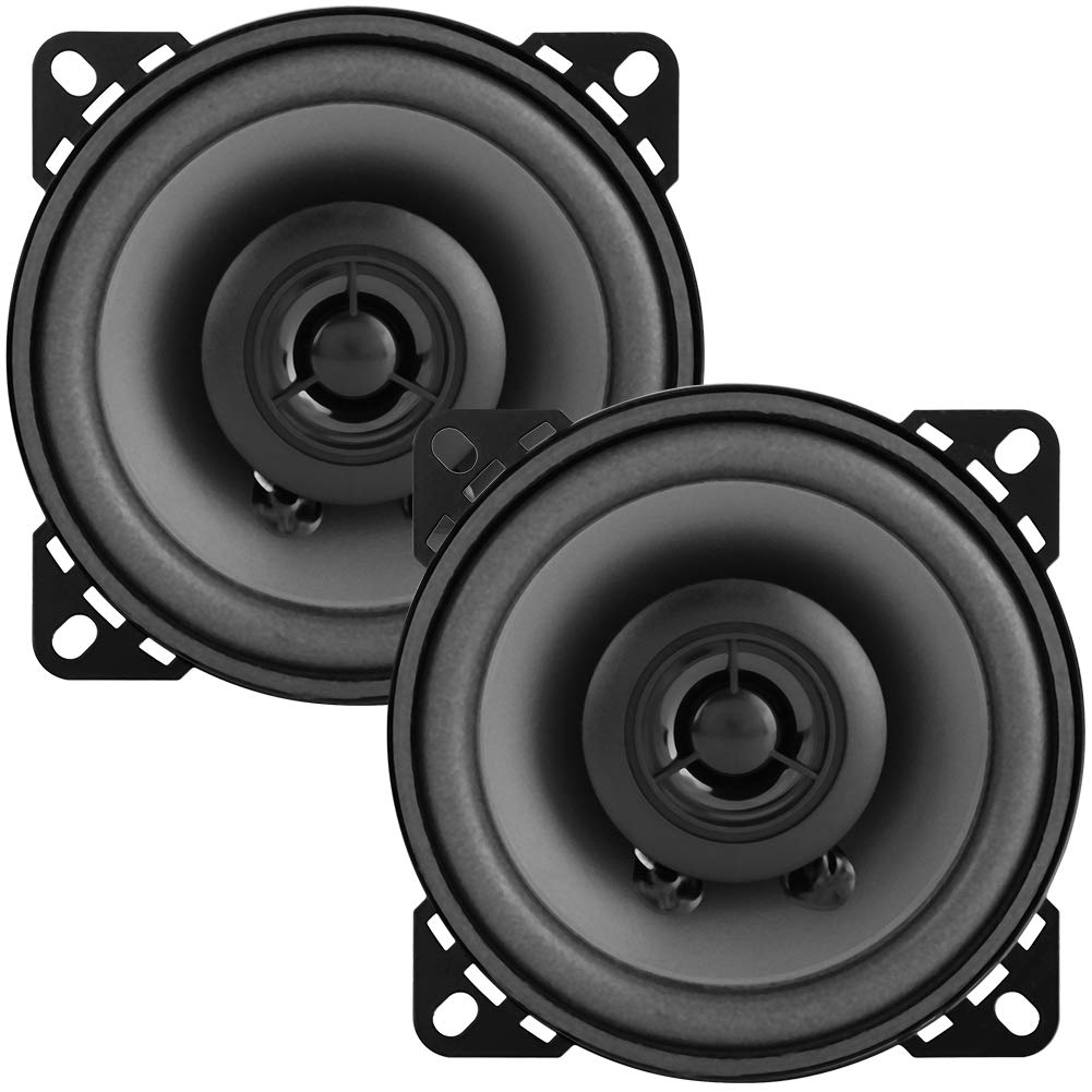 2pcs 4 Car Speakers 60W Car Modified Upgrade Coaxial Audio Speaker Loudspeaker Car Speaker