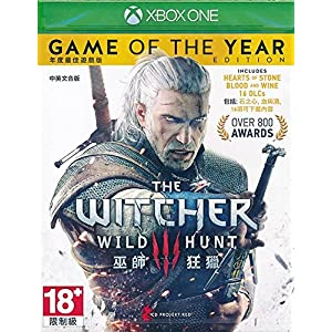 The Witcher 3 III Game of the Year Edition (English & Chinese subtitle) (Xbox One) - REGION FREE