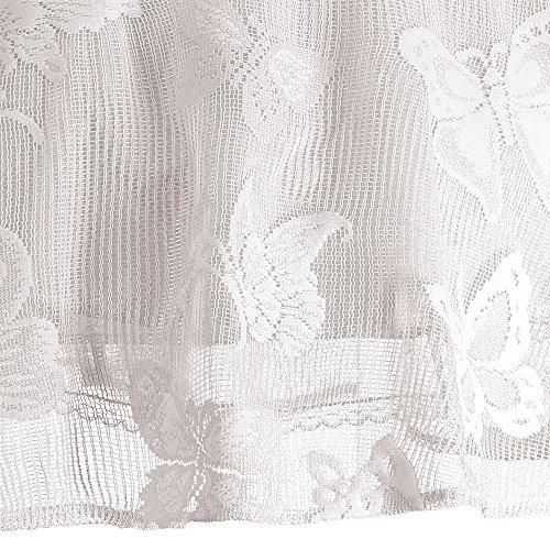 Bianco Vestito Della Farfalla Maniche Promenade Maglia Da Mini A Femminile Ricamata Epoca Charmma 5nWRqO7cp